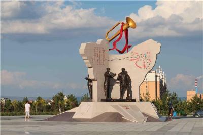 内蒙古集宁革命烈士纪念馆雕塑