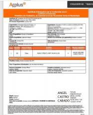 轮胎摩洛哥COC认证申请资料