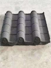 仿古瓦彩石金属瓦古建筑复古改造瓦镀铝锌瓦