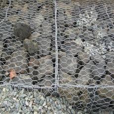 供應新疆鉛絲石籠網 生態鉛絲籠擋土墻廠家