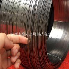 不锈钢弹簧扁线 304中硬扁线316不锈钢线1mm