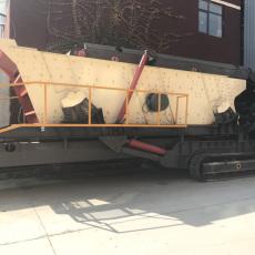 安徽大型履帶移動破碎篩分成套設備多少錢
