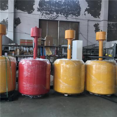 聚乙烯罐型浮标直径1.2米柱形塑料航标尺寸