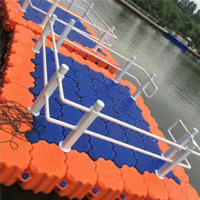 水上浮桥码头塑料浮箱滚塑加工