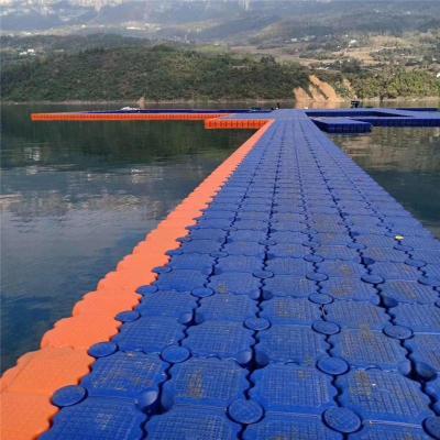 码头水上平台海上塑料浮箱浮桥设计加工