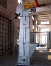 垂直皮帶斗式提升機 環鏈斗式提升機LJQC
