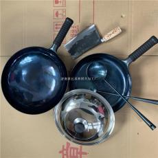 純熱鍛鐵鍋章丘手工鐵鍋多少錢