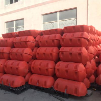 新款库区拦污浮排进水口桶状导漂排安装