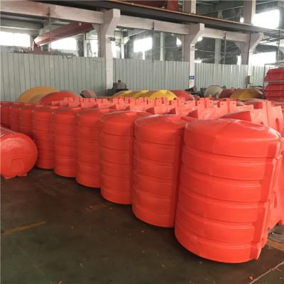水上生活垃圾拦污网浮漂圆柱形塑料浮桶造价