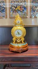 钟声平安铜镀金福禄万代座钟