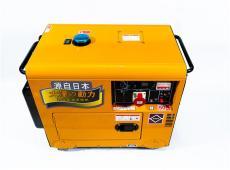 小型便携式5kw柴油发电机