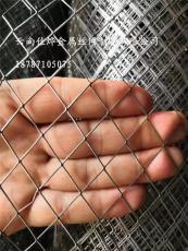 供應噴漆鋼板菱形網 昆明防護圍欄鋼板網廠