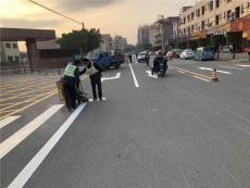 东莞企石消防划线 车位划线 道路热熔划线