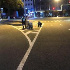 东莞寮步停车位划线 消防画线 道路热熔划线