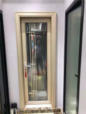铝合金洗手间门公寓卫浴门定制中空钢化玻璃