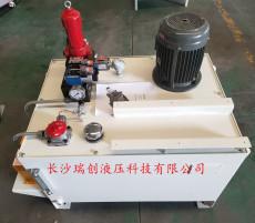 湖南液壓動力站液壓系統總成設計加工