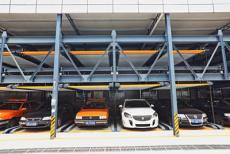 惠州低價出租立體橫移機械三層智能停車庫