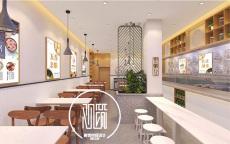 郑州餐饮店施工价格金水区连锁餐厅装修施工