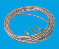 高压油管深高压缠绕管焊接不锈钢波纹管