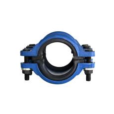 PE管用铸铁抢修节直管哈夫节P110X500
