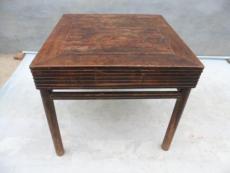 上海华漕北青公路红木家具翻新方桌子加固红