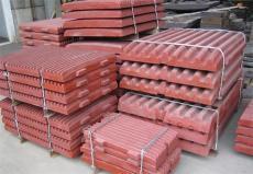高锰合金鄂板齿板 高锰钢铸件耐磨鄂板 定板