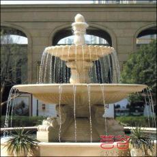 石雕喷泉雕塑