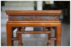 上海红木古家具部件的松散与脱落修复损坏榫