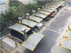 石家庄回收立体机械车位回收两层简易停车库