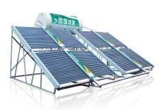 湖南新建樓房太陽能熱水工程