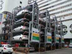 哈爾濱回收立體機械停車場設備回收機械車庫