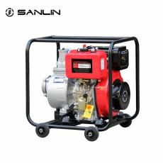 便携式4寸柴油水泵