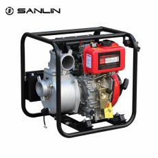 园林灌溉3寸柴油机水泵