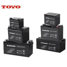 TOYO蓄电池6GFM100 12V100AH信号系统