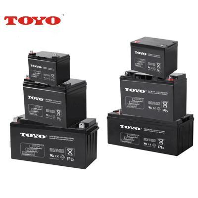 TOYO蓄电池6GFM150 12V150AH报警装置