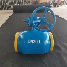 热通全焊接手柄球阀热力管道球阀可定制