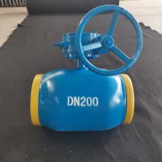 全焊接热力管道手柄球阀 全焊接蜗轮球阀