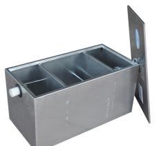 不锈钢隔油池-不锈钢斜管隔油池