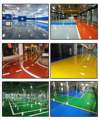 惠州東江工業區廠房環氧舊地坪翻新施工