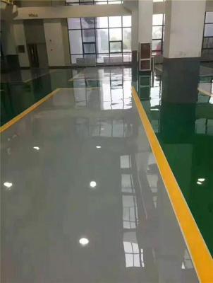 惠州三棟數碼園廠房車間專業地坪漆施工