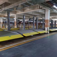 北京回收機械立體車庫回收俯仰式停車寶