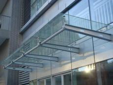 惠州卸货平台钢结构雨棚