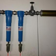 避難硐室壓風供氧氣瓶供氧系統