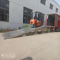 久达大象牌9.6米移动式铝合金卸货平台