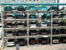 郑州出租博亚直播车库租赁四层博亚直播车位包含安装