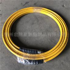 DN6液压设备高压软管 700公斤高压双联管
