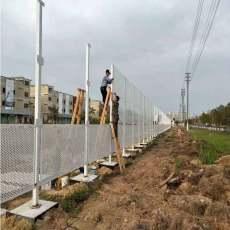 江門工地沖孔板圍欄現貨 建筑施工沖孔護欄