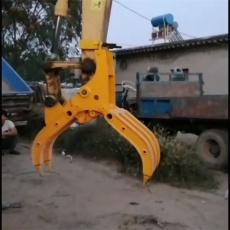 廠家定做挖機抓木器 旋轉式抓木器價優