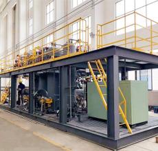 有機VOCs廢氣冷凝回收處理系統