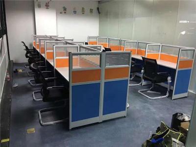 合肥辦公屏風隔斷職員工位桌鋼架組合位出售